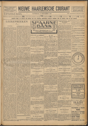 Nieuwe Haarlemsche Courant 1930-11-15