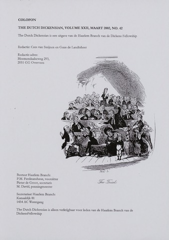The Dutch Dickensian 2002