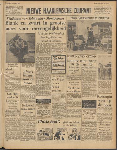 Nieuwe Haarlemsche Courant 1965-03-22