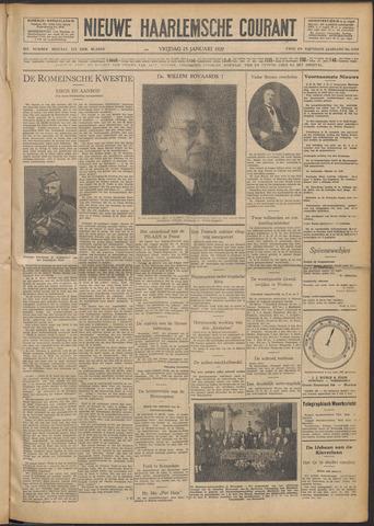 Nieuwe Haarlemsche Courant 1929-01-25
