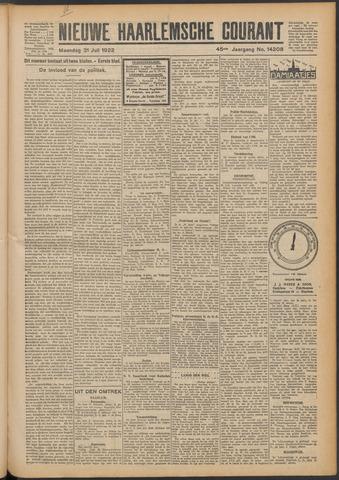 Nieuwe Haarlemsche Courant 1922-07-31