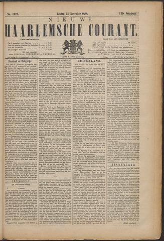 Nieuwe Haarlemsche Courant 1888-11-25