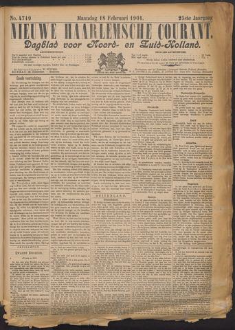 Nieuwe Haarlemsche Courant 1901-02-18