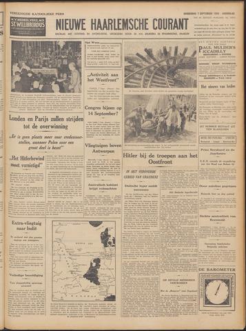 Nieuwe Haarlemsche Courant 1939-09-07