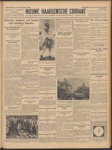Nieuwe Haarlemsche Courant 1935-08-22