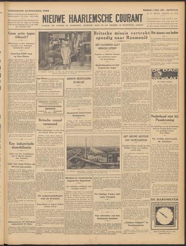 Nieuwe Haarlemsche Courant 1939-04-05