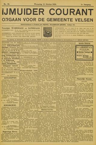 IJmuider Courant 1916-10-11