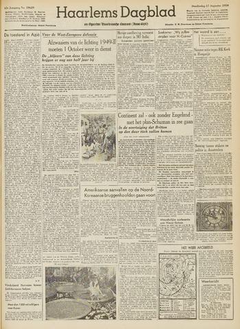 Haarlem's Dagblad 1950-08-17