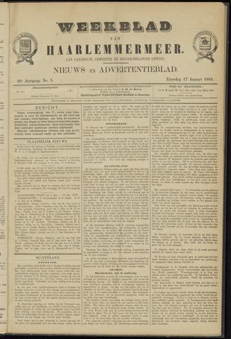 Weekblad van Haarlemmermeer 1885-01-17