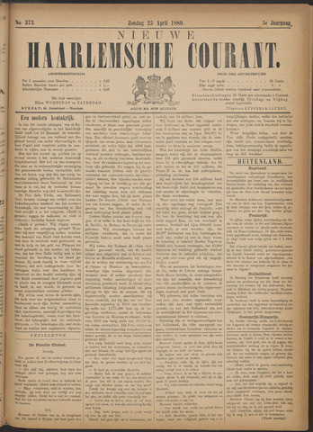 Nieuwe Haarlemsche Courant 1880-04-25