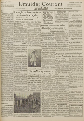 IJmuider Courant 1948-12-01