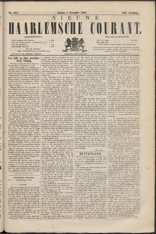 Nieuwe Haarlemsche Courant 1885-11-08
