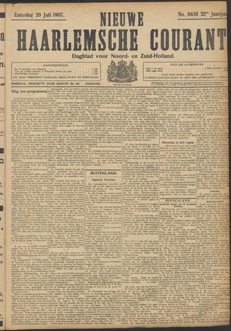 Nieuwe Haarlemsche Courant 1907-07-20
