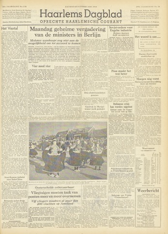 Haarlem's Dagblad 1954-02-06