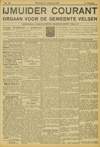 IJmuider Courant 1916-08-16