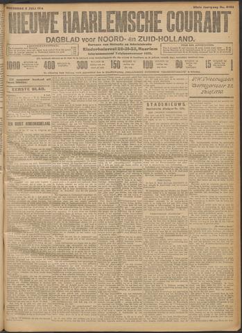 Nieuwe Haarlemsche Courant 1914-07-08