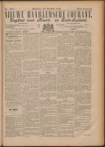 Nieuwe Haarlemsche Courant 1904-10-10