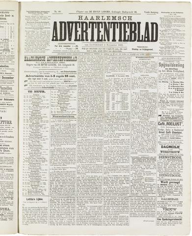 Haarlemsch Advertentieblad 1882-11-04
