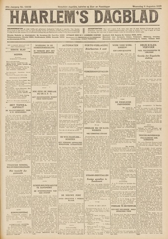 Haarlem's Dagblad 1926-08-11