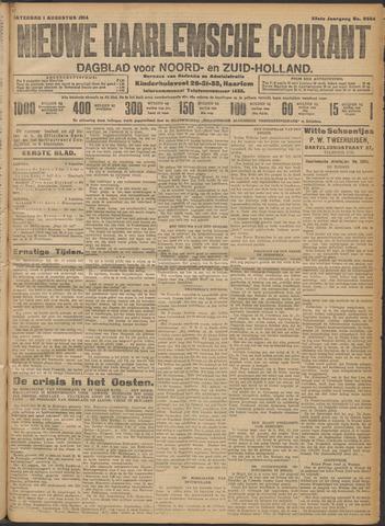 Nieuwe Haarlemsche Courant 1914-08-01