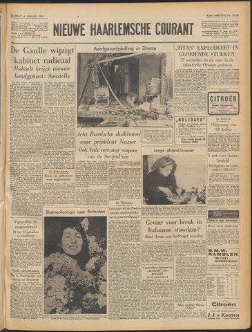 Nieuwe Haarlemsche Courant 1960-02-06