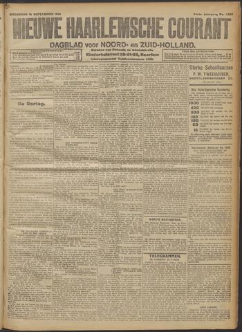 Nieuwe Haarlemsche Courant 1914-09-16