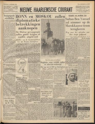 Nieuwe Haarlemsche Courant 1955-09-14