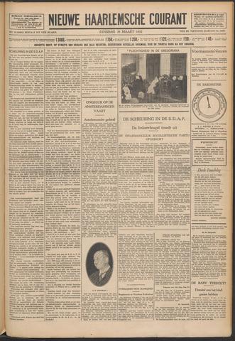 Nieuwe Haarlemsche Courant 1932-03-29