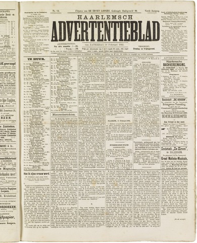 Haarlemsch Advertentieblad 1882-02-18