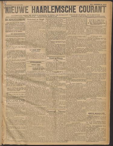 Nieuwe Haarlemsche Courant 1919-10-15