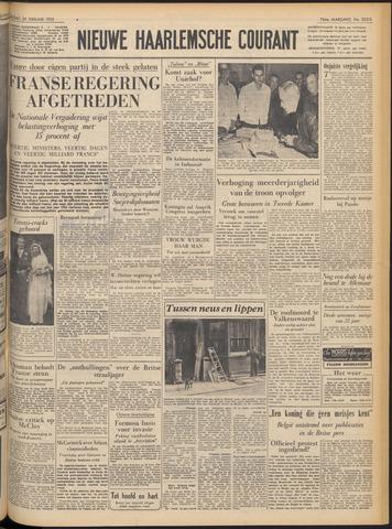 Nieuwe Haarlemsche Courant 1952-02-29