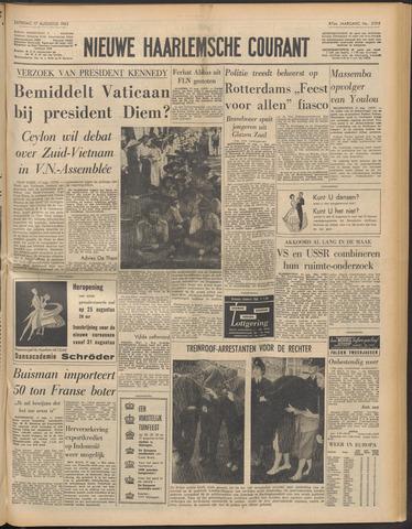 Nieuwe Haarlemsche Courant 1963-08-17