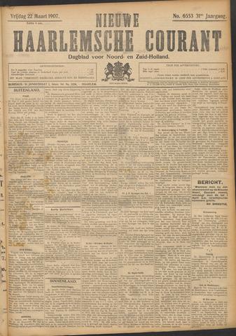 Nieuwe Haarlemsche Courant 1907-03-22