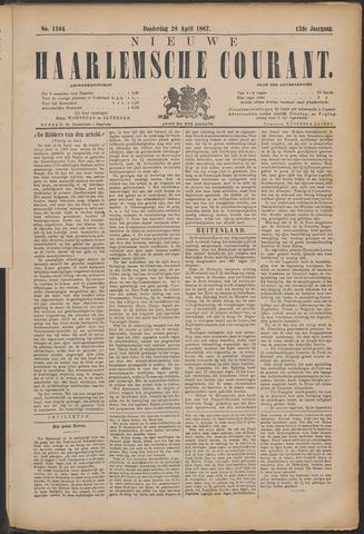 Nieuwe Haarlemsche Courant 1887-04-28