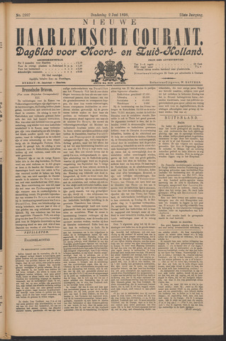 Nieuwe Haarlemsche Courant 1898-06-02