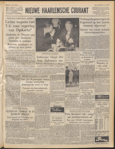 Nieuwe Haarlemsche Courant 1958-05-09