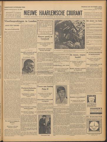 Nieuwe Haarlemsche Courant 1934-10-26