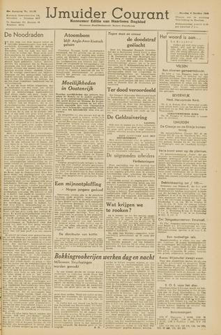 IJmuider Courant 1945-10-09