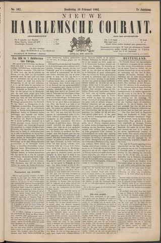 Nieuwe Haarlemsche Courant 1882-02-16