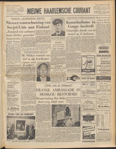 Nieuwe Haarlemsche Courant 1961-11-17