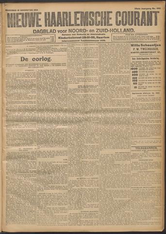 Nieuwe Haarlemsche Courant 1914-08-10