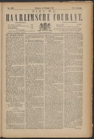 Nieuwe Haarlemsche Courant 1890-02-12
