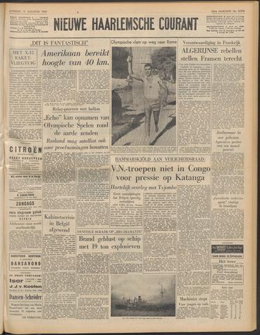 Nieuwe Haarlemsche Courant 1960-08-13