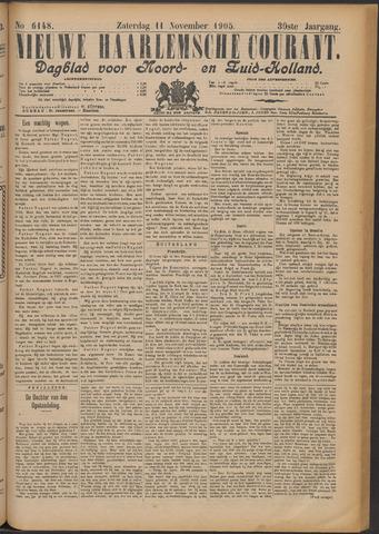 Nieuwe Haarlemsche Courant 1905-11-11