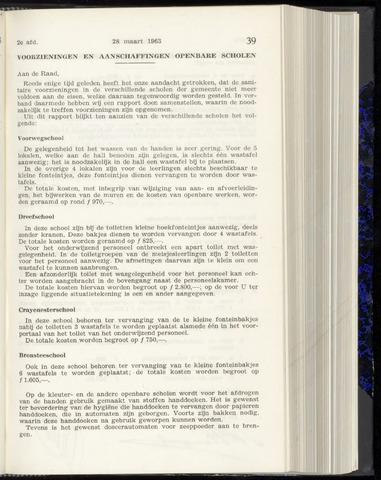 Raadsnotulen Heemstede 1963-03-28