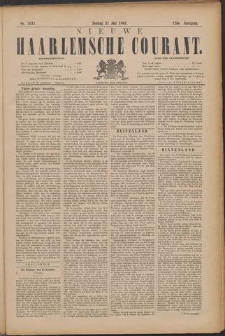 Nieuwe Haarlemsche Courant 1887-07-31