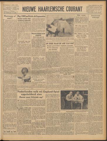 Nieuwe Haarlemsche Courant 1949-04-07