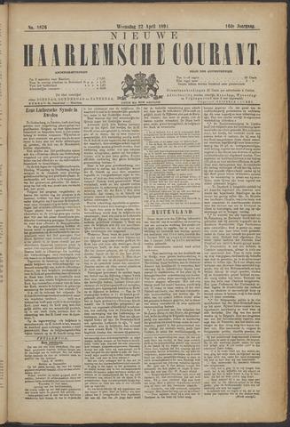 Nieuwe Haarlemsche Courant 1891-04-22