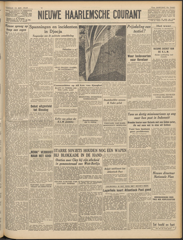 Nieuwe Haarlemsche Courant 1949-05-13
