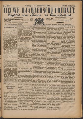 Nieuwe Haarlemsche Courant 1905-12-15